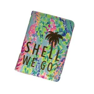 Lilly Pulitzer Passport Holder Catch the Wave